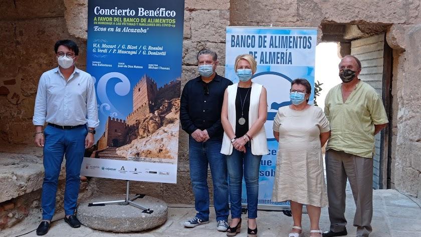 Autoridades presentan el nuevo recital que tendrá lugar en La Alcazaba.