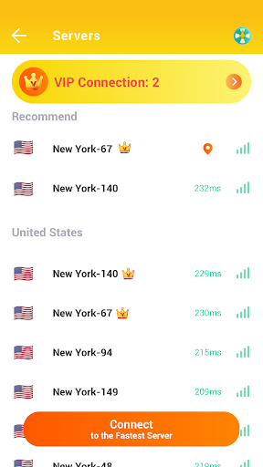Free & Fast Server VPN Proxy screenshot 8