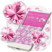 Bling Theme Pink Zebra Launcher