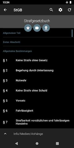 Lawdroid AT – Österreichische Gesetze und EU-Recht screenshot 7