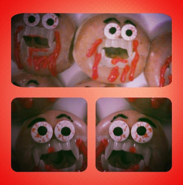 Halloween Donuts! Recipe