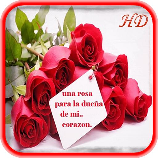 Rosas Con Frases De Amor