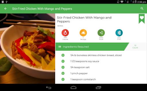 Asian Recipes 41.0.0 screenshots 9