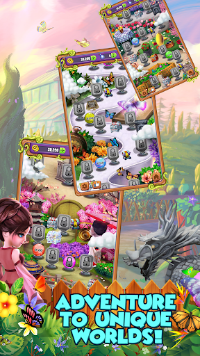 Mahjong Gardens: Butterfly World android2mod screenshots 8