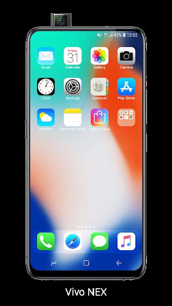 Launcher iOS 13 Android App Screenshot