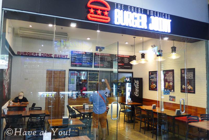 Burger Joint storefront