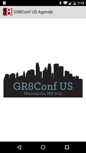 GR8Conf US Agenda