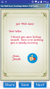 Design Get Well Soon Greetings - náhled