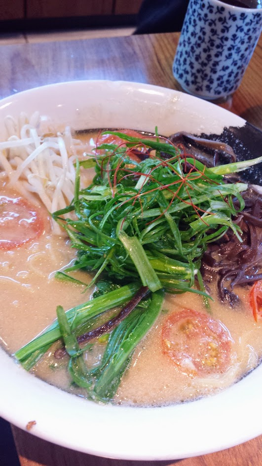 Kizuki Ramen & Izakaya in Beaverton, they offer 11 kinds of ramen, including a Veggie Ramen with slightly spicy, all vegetarian shiitake mushroom and kelp stock flavored with miso and thickened with soy milk and ground sesame seeds