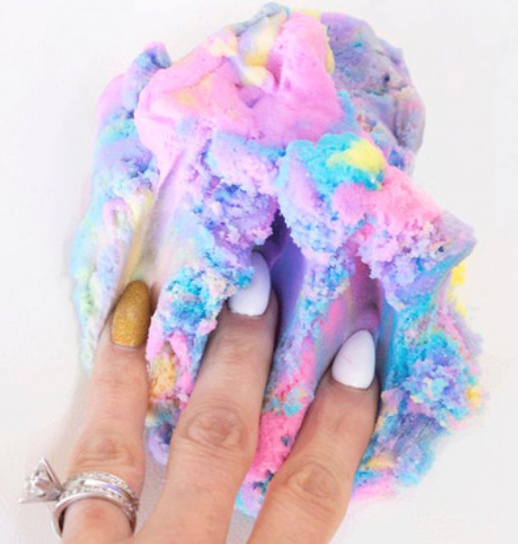 unicorn cloud slime