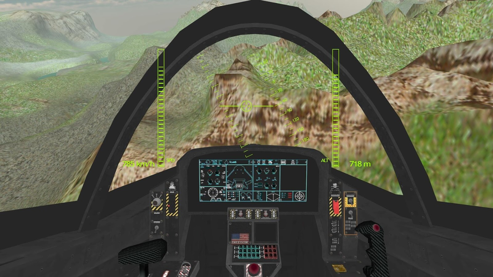 Airplane Carrier Fighter Jet- screenshot