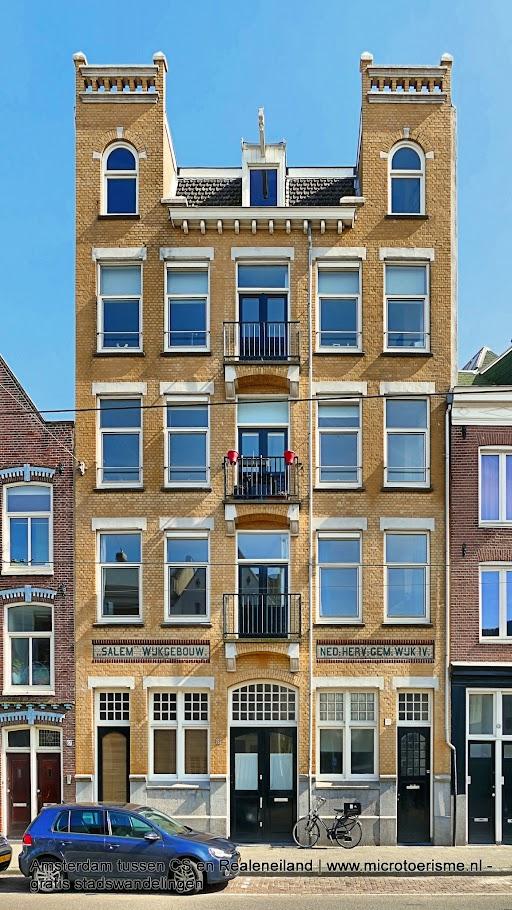Aangeboden door: Stichting Microtoerisme InZicht Fotoblog Amsterdam Salem Wijkgebouw