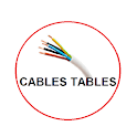 Electrical Cable Table: electrical apps free icon