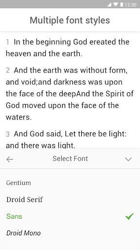 King James Bible (KJV) screenshot 5