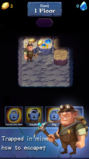 Mine Legend - Idle Miner Game  captures d'u00e9cran 2