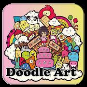 doodle art design icon
