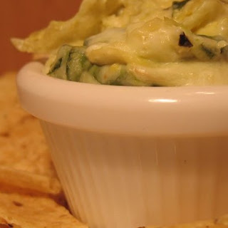 Hot Artichoke and Spinach Dip II