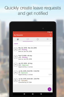 Agendrix for Employees- screenshot thumbnail