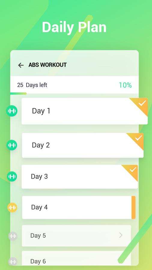 Easy Workout - Abs & Butt Fitness,HIIT Exercises Screenshot 4