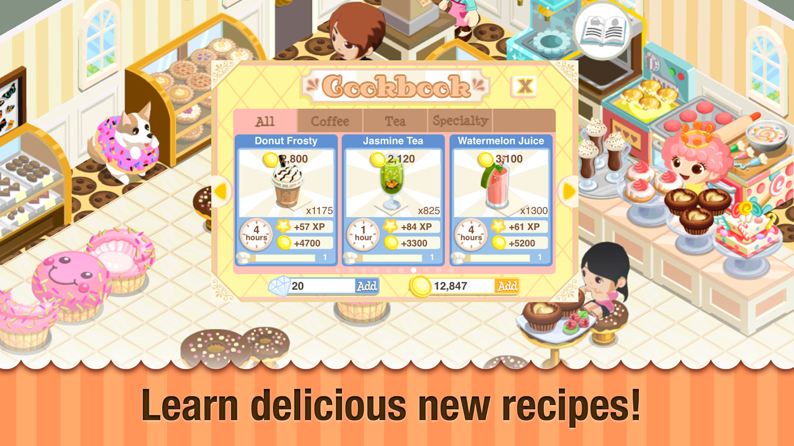 New Free Restaurant Games