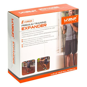 Curea elastica pentru antrenament, Live Up 175 cm