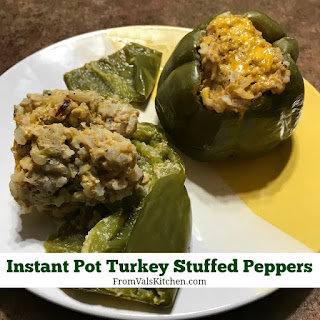 Instant Pot Turkey Stuffed Peppers.