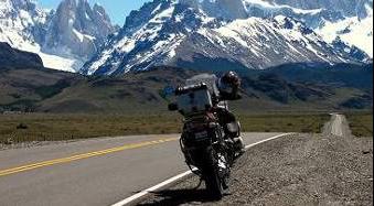 Patagonie à moto