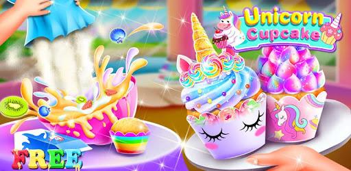 Приложения в Google Play – Unicorn Cupcake Maker - Игры о ...
