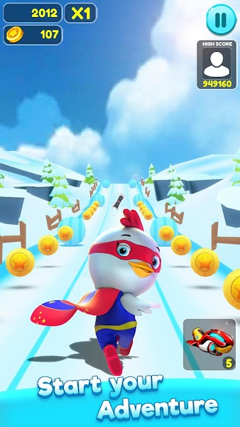 Lily Run 3D - Endless Runner