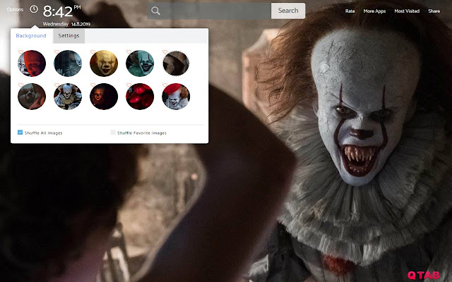 It Chapter 2 Wallpapers New Tab
