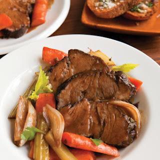 Sweet Home Beef and Veggie Pot Roast.