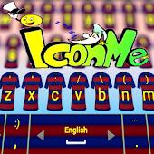Barcelona IconMe Keyboard