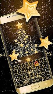 Zlatý vánoční strom - náhled