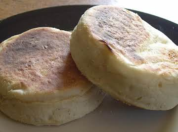 English Muffins from scratch