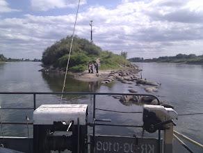 Photo: Po lewej Dunajec, po prawej Wisła