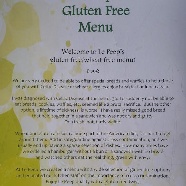 their gluten free philosophy speaks to my heart