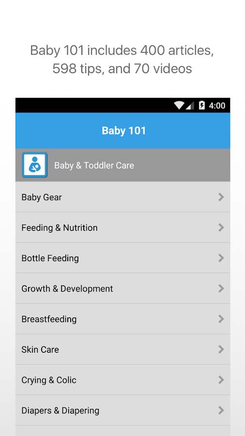 WebMD Baby- screenshot