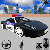 Police Car Parking Game 3D Free