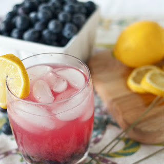Lavender Blueberry Lemonade.