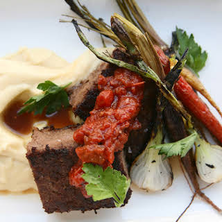 Root & Bone's Short Rib Meatloaf with Tomato Jam.