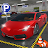 Multi-storey Sports Car Parking Simulator 2019 Icône