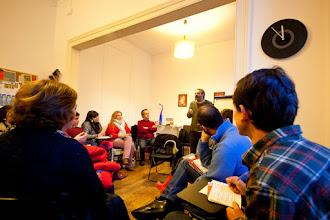 Photo: Gonçalo M. Tavares (Sessões Ícone, EC.ON)