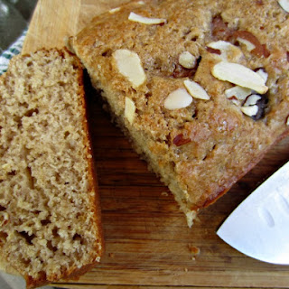 Fresh Fig and Almond Quick Bread.