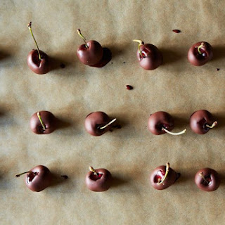 Crazy-Good No-Temper Chocolate-Dipped Cherries.