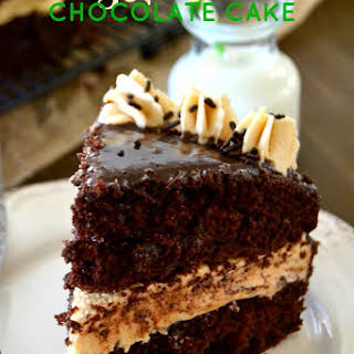Bailey's Irish Cream Chocolate Cake.