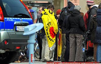 Photo: Nach der Zeit der Kernschmelze und des Nachdenkens in Japan - Rückabwicklung der Atomverträge in Deutschland.   Atommüll darf nicht in Lubmin gelagert werden.