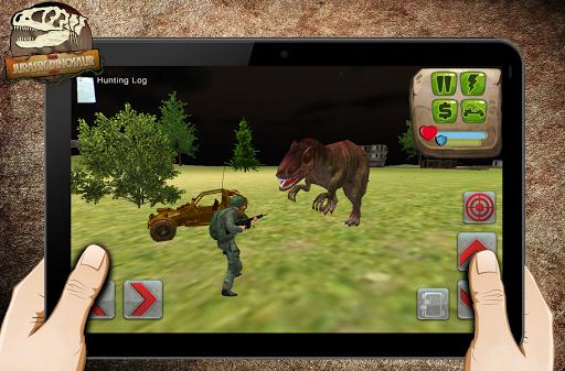 陆军侏罗纪恐龙狩猎