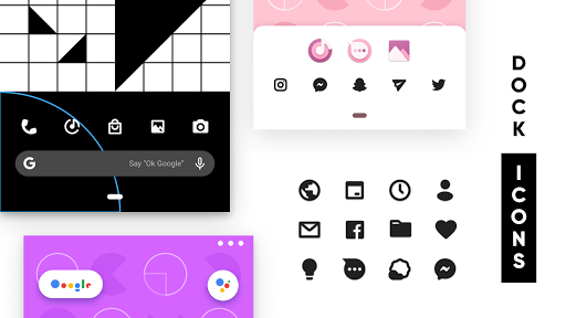 Screenshot for CandyCons Unwrapped - Icon Pack in United States Play Store