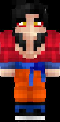 Goku Ssj Nova Skin - Skin para minecraft pe goku