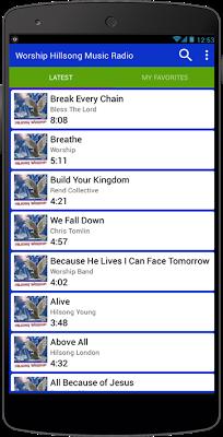 Worship Hillsong Music Radio - screenshot
